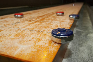 SOLO® Shuffleboard Movers Colorado Springs, Colorado.