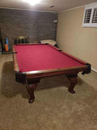 Solo 174 Colorado Springs 9 Peter Vitalie Pool Table For