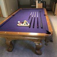 Standard Size Imperial International Pool Table