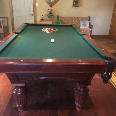 8' Pool Table & Accessories