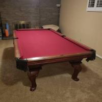 9' Peter Vitalie Pool Table For Sale